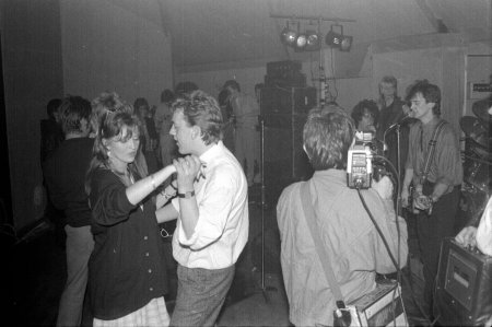 Cast Of Thousands in the Railway Tavern, Fahan, Co. Donegal (20th October 1985) with Caron Keating RIP, Jackie  Hamilton, Ronan Hayden, Dave Harvey, Mark Megannety and Jim Walker