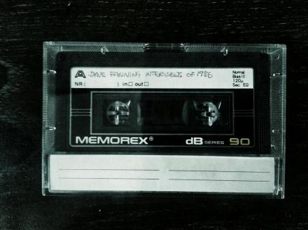 Dave Fanning Interviews 1986 tape
