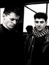 Paul Lehane (left) and Nick Knight