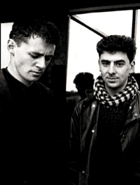 Paul Lehane (left) and Nick Knight