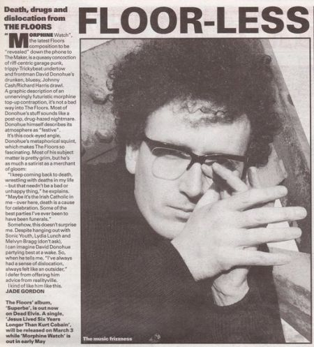 the floors melody maker
