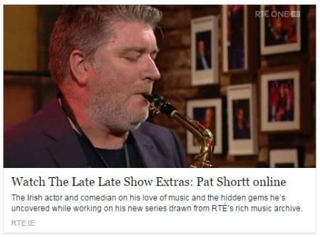 pat shortt late late