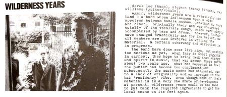 Vox 80-83_WildernessYears