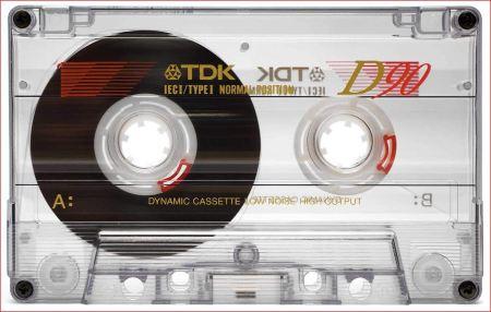 tdk cassette