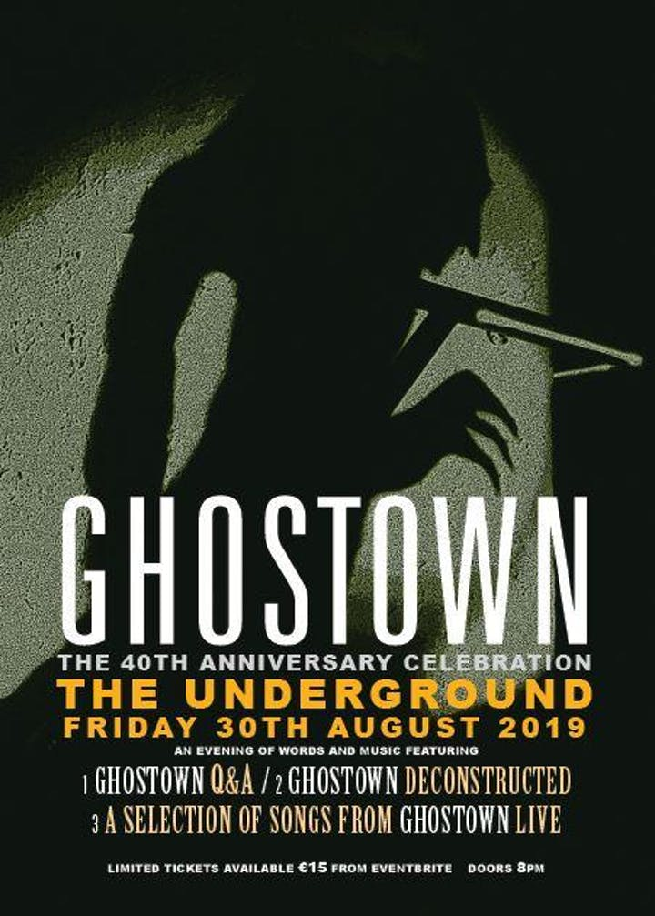 Radiators - Ghostown reissue event