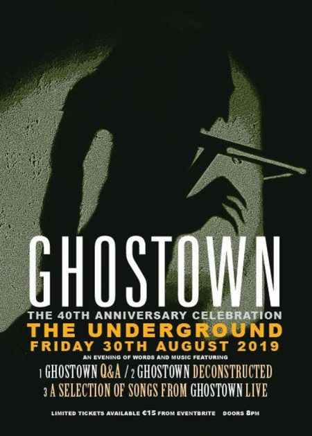 Radiators - Ghostown reissue event