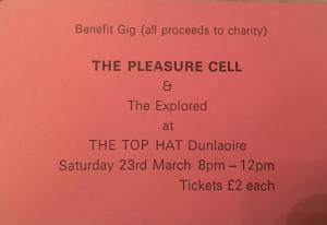pleasure cell top hat ticket