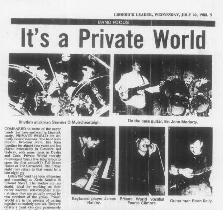 private world limerick leader